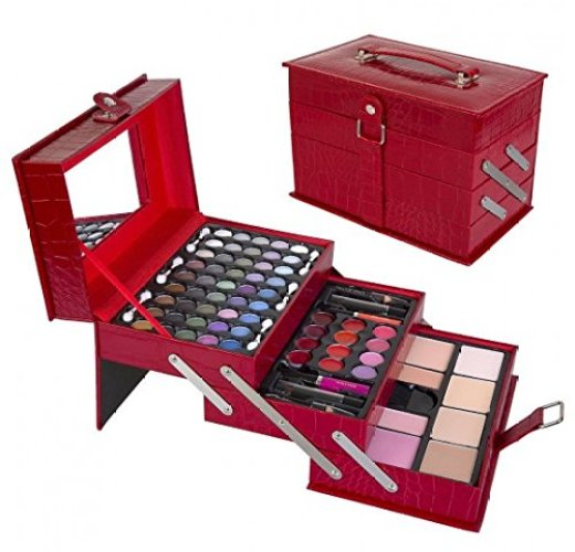 All In One Makeup Kit – Eyeshadow, Blushes, Powder, Lipstick & More - Professional Makeup Kits