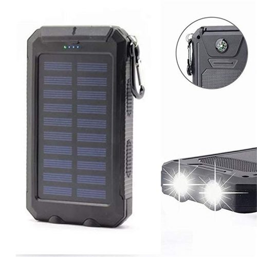 Solar Charger 20000mAh Power Bank, Portable Charger Solar Phone Charger - Solar Power Banks