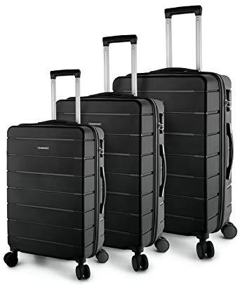 TravelCross Chicago Luggage 3 Piece Lightweight Spinner Set - Lightweight luggage