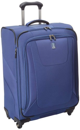 Travelpro Luggage Maxlite3 25 Inch Expandable Spinner, Blue, One Size - Lightweight luggage