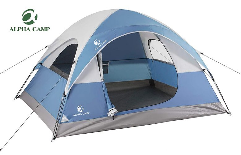 ALPHA CAMP 3 Person Tent for Camping Lightweight Backpacking Tent