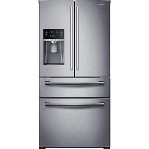SAMSUNG RF28HMEDBSR French Door Refrigerator, 28 Cubic Feet, Stainless Steel