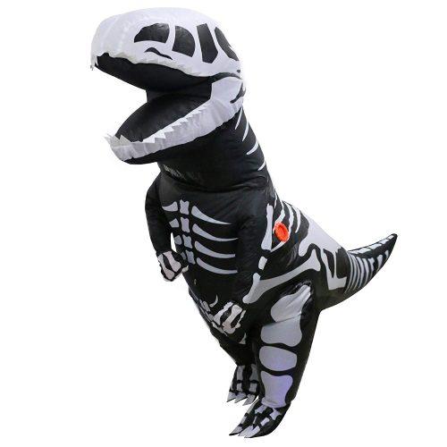Inflatable Dinosaur Skeleton Costume