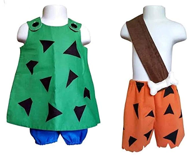 Perfect Pairz Pebbles and BAMM BAMM Halloween Coordinates-Sold Separately