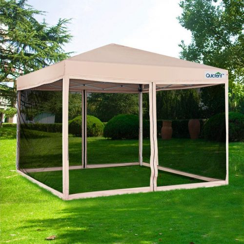Quictent Ez Pop up Canopy with Netting Screen House Tent - camping screen house