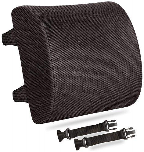 Everlasting Comfort 100% Pure Memory Foam Back Cushion - Lumbar support pillows