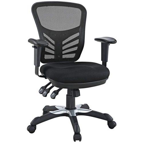 Modway Articulate Ergonomic Mesh Office Chair - Minimal Design Office Chair