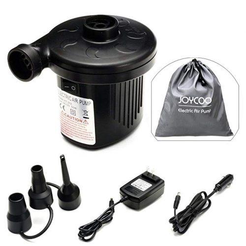 Joycoo Electric Air Pump Camping pump air mattress pump - Electric Portable Air Mattress Pumps
