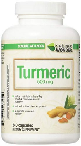 Nature's Wonder Turmeric 500mg Supplement - Joint Supplements