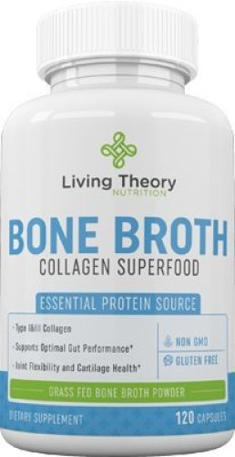 Organic Grass-Fed Bone Broth Collagen Superfood Powder - Joint Supplements