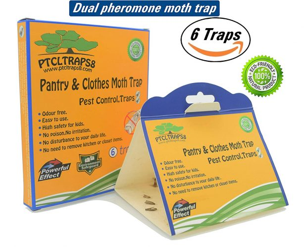 Dual Moth Traps, Highly Effective ALL-AROUND