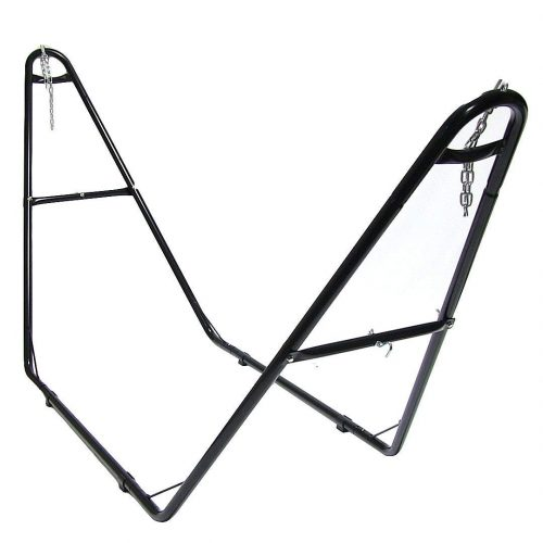 Sunnydaze Universal Multi-Use Heavy-Duty Steel Hammock Stand, 2 Person, Fits Hammocks 9 to 14 Feet Long, 440 Pound Capacity