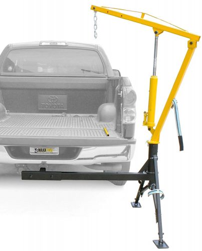 MaxxHaul 70238 Receiver Hitch Mounted Crane - 1000 lbs. Capacity - truck cranes