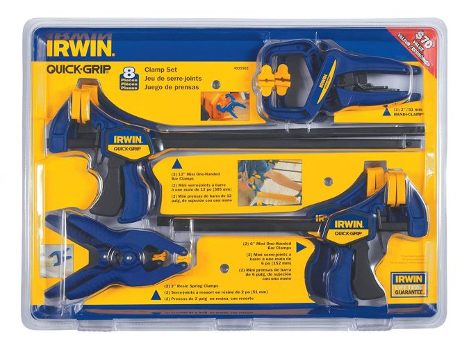 IRWIN Tools Clamp Set4935502 - woodworking clamps