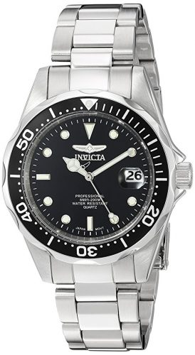 Invicta Men's 8932 Pro Diver Collection Silver-Tone Watch - Christmas Gifts for Him