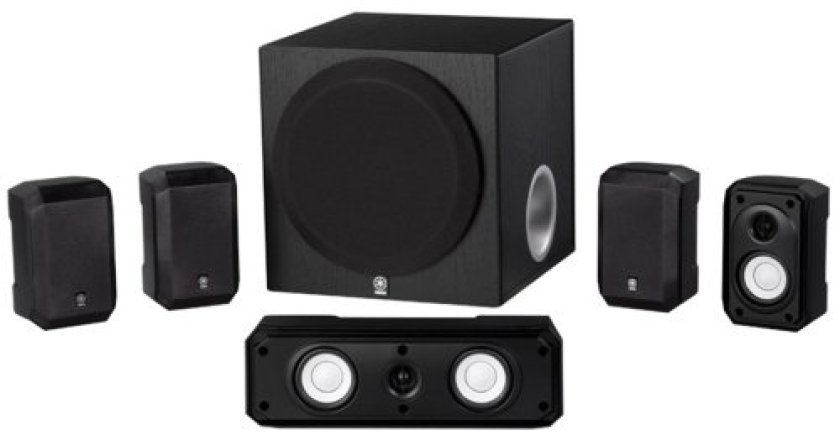 Yamaha NS-SP1800BL 5.1-Channel Home Theater Speaker System - 5.1 Channel Speakers