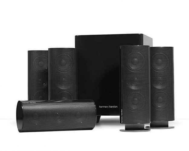 Harman Kardon HKTS 30BQ 5.1 Home Theater Speaker System - 5.1 Channel Speakers