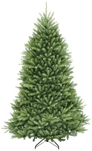 National Tree 6.5 Foot Dunhill Fir Tree, Hinged - Artificial Christmas Trees