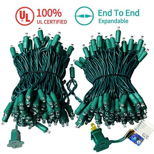 Upgraded 66FT 200 LED Christmas Lights Outdoor String Lights - LED String Lights for Christmas
