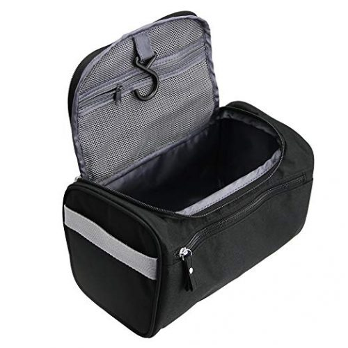 TravelMore Hanging Travel Toiletry Bag Organizer - Men Toiletry Bags