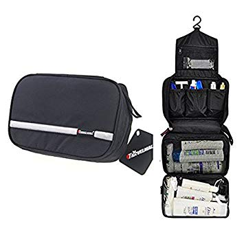 Travel Toiletry Bag Business Toiletries Bag Black - Men Toiletry Bags