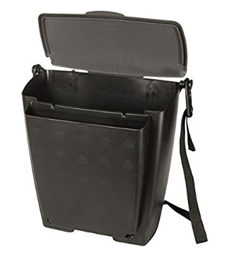 Rubbermaid Automotive Hanging Trash Can with Flip Top Lid: Leakproof Car Garbage Bin/Waste Basket Organizer Caddy