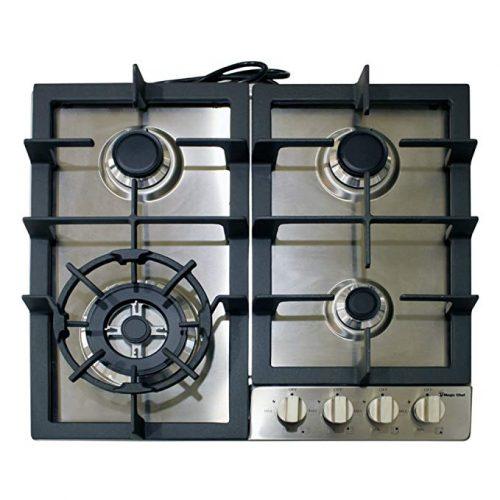 """Magic Chef Built MCSCTG24S 24"""" - Gas Cooktops"""