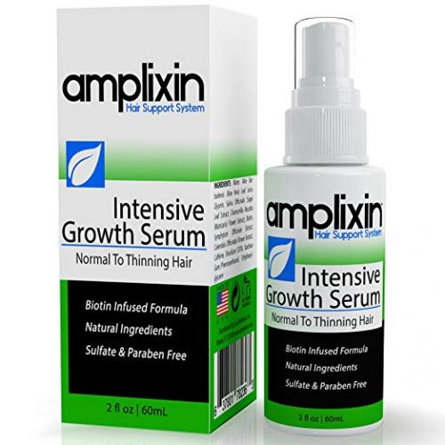 Amplixin Intensive Biotin Hair Growth Serum - Hair Re-growth Product for Men