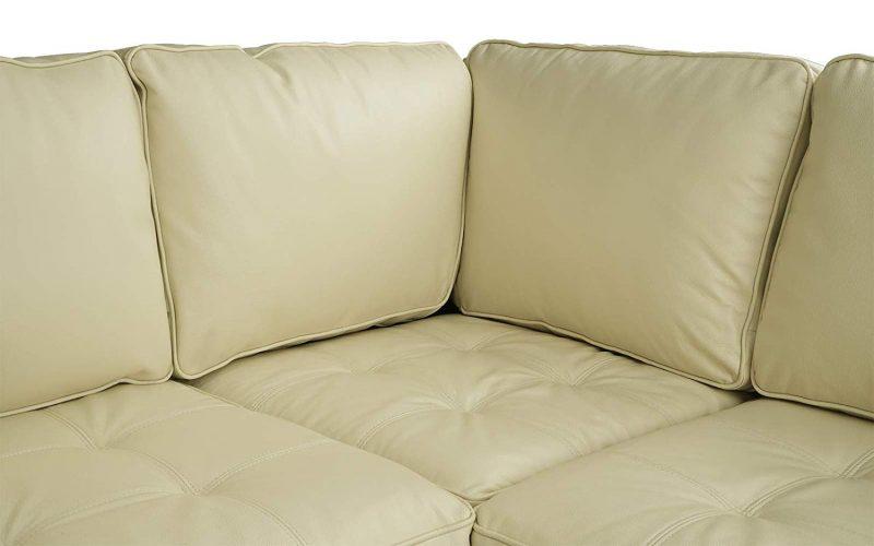 Divano Roma Furniture's - Corner Sofa (L shape sofa)