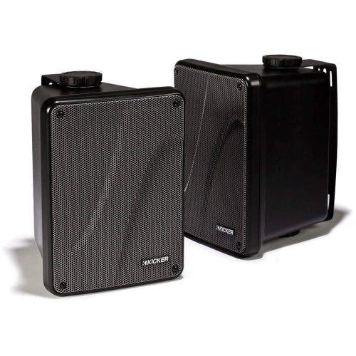 "Kicker KB6000 6.5"" Full Range Black 11KB6000B - marine speakers"