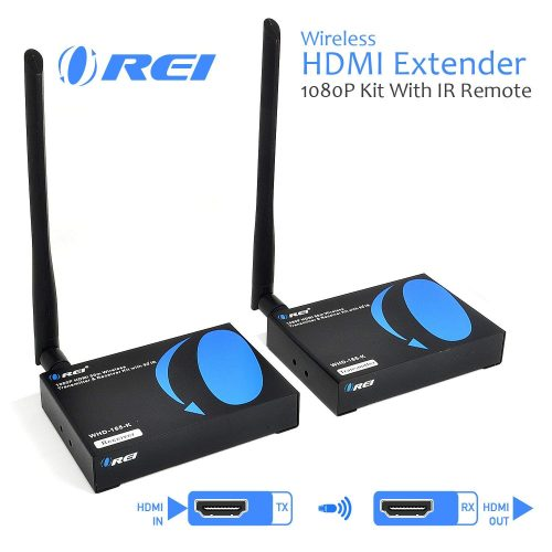 OREI Wireless HDMI Transmitter Receiver Extender 1080P Kit - Wireless HDMI Transmitter & Receiver