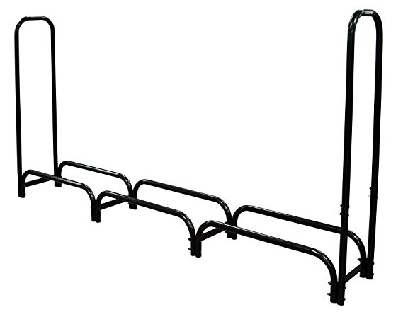 Landmann 82443 Firewood Rack with Cover, 8-Feet