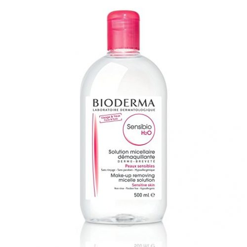 BiodermaSensibio H2O Micellar Water, Cleansing and Make-Up Removing Solution