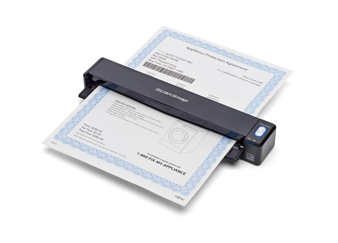 Fujitsu ScanSnap iX100 Wireless Mobile Scanner - Portable Scanners