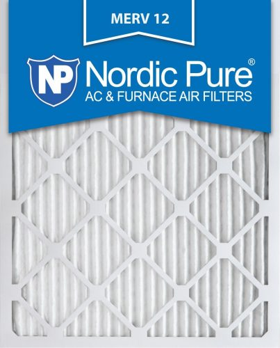 Nordic Pure 20x25x1 AC Furnace Air Filters - AC Filters