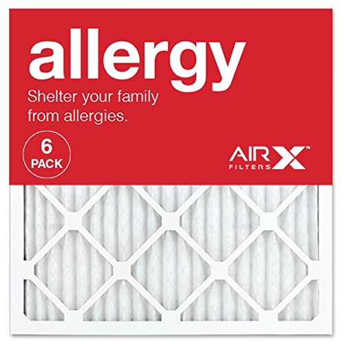 AIRx ALLERGY 20x20x1 MERV 11 Pleated Air Filter - AC Filters