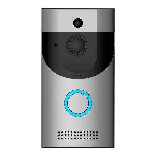 Video Doorbell, Awakingdemi Waterproof Smart Doorbell 720P HD WiFi Security Camera, Real-Time Two-Way Talk, and Video, Night Vision, PIR Motion Detection and App Control for iOS, Android and Google