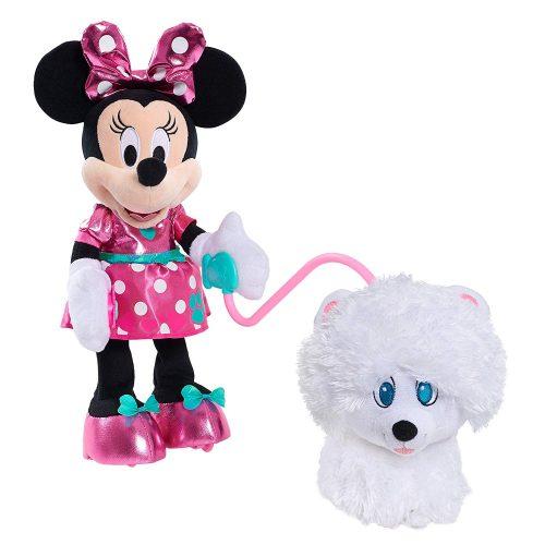 Minnie Walk & Play Puppy Feature Plush