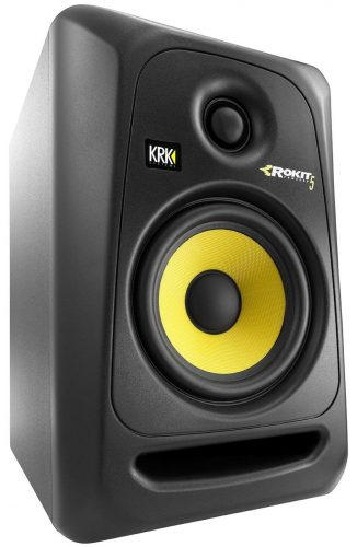 "KRK RP5G3 ROKIT 5 G3 5"" 2-Way Powered Studio Monitor, Black"