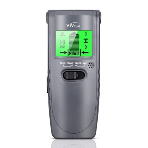 Stud Finder - 4 in 1 Electric Wall Scanner Wall Detector Finders with Digital LCD Display, Center-Finding Stud Sensor & Sound Warning for Studs/Wood/Metal/Live AC Wires Detection