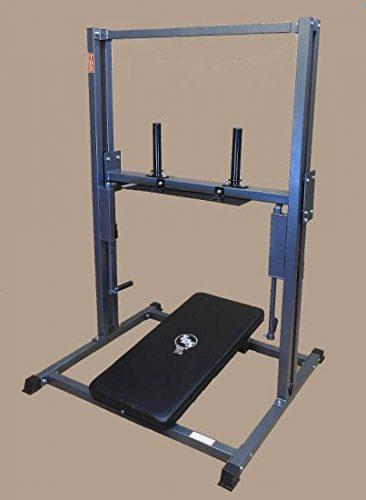 TDS Premier Vertical Leg Press - Silver Grey