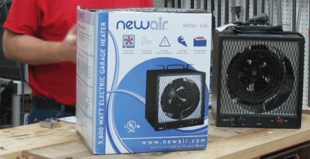 the most powerful and best electric garage heater 240v