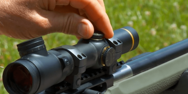 how to adjust a scope on a air rifle