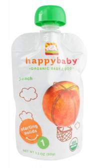 Happy Baby Organic Baby Food Stage 1 - Starting Solids ...
