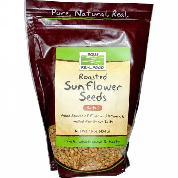 Now Foods Sunflower Seeds Roasted Salted 16 oz