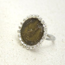 Handcrafted Penny Ring