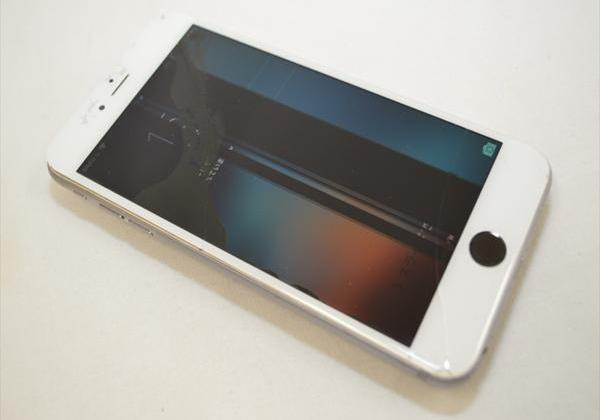 ジャンク Softbank iPhone6 Plus 64GB グレイ MGAH2J/A 色違い液晶割れ 浮き 買取実績