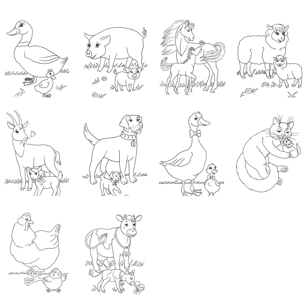 Farm Animal Worksheets and Activities