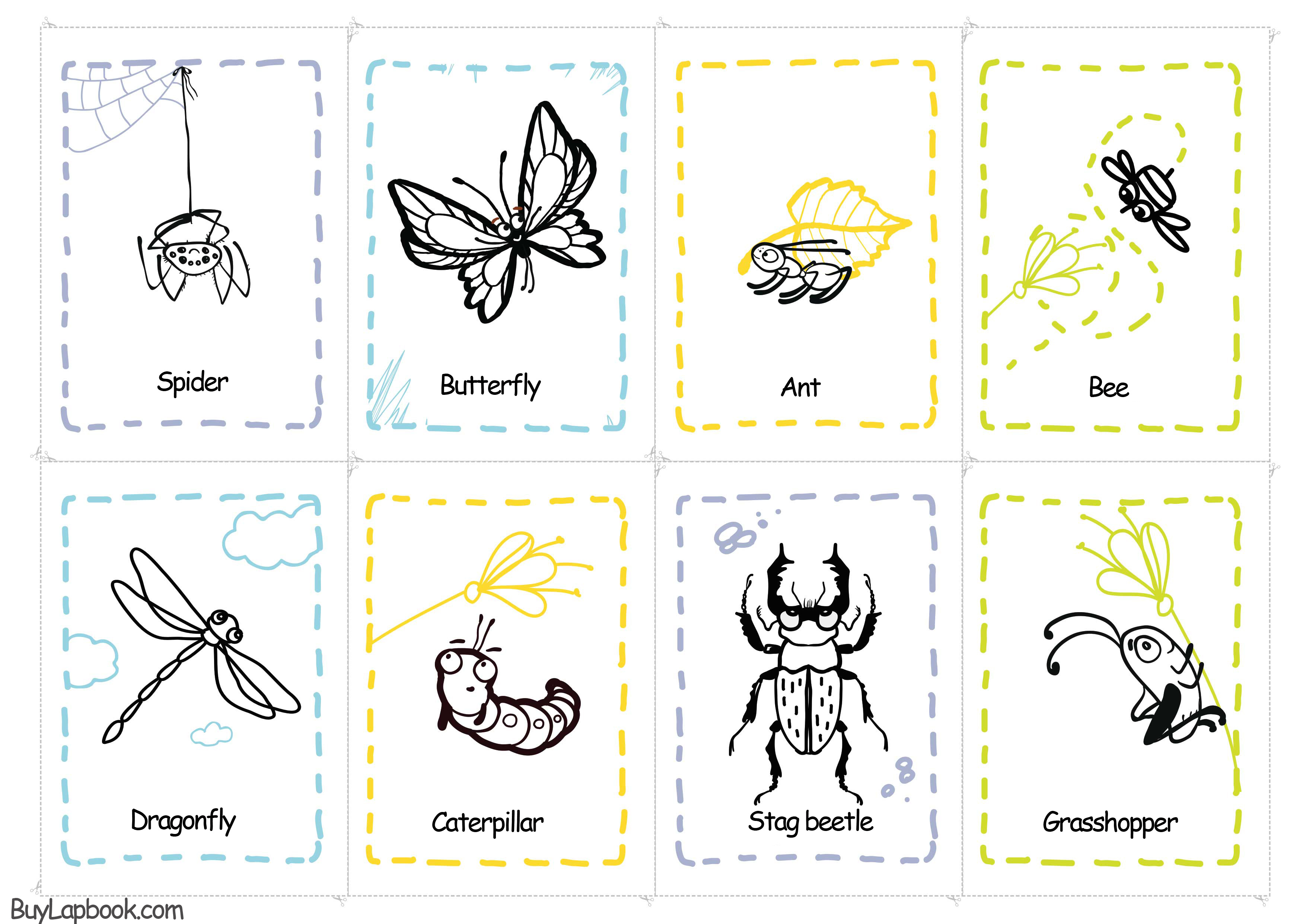 Bugs Theme And Insects Free Printables For Pre K And