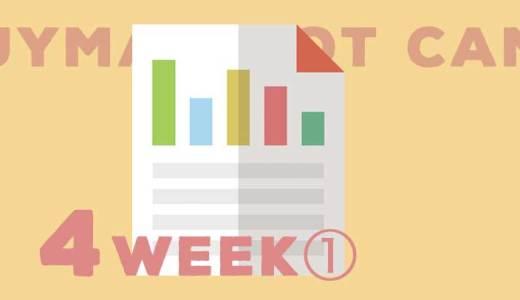 BUYMA超短期集中レッスン第4週目の課題